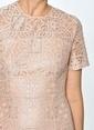 Gırl In Mınd Elbise Pudra